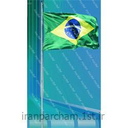پرچم اهتزاز ساتن کشور برزیل