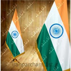 عکس پرچم، بنر و لوازم جانبیپرچم تشریفات ساتن کشور هند