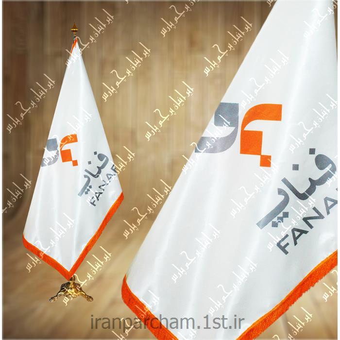 پرچم تشریفات ساتن چاپ دیجیتال 43
