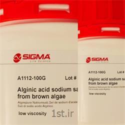 ماده آلژینات سدیم  Alginic acide sodium sigma A1112