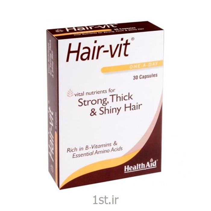 عکس سایر محصولات مراقبت از موکپسول هیرویت تقویت رشد و ضد ریزش مو هلث اید 30 عدد