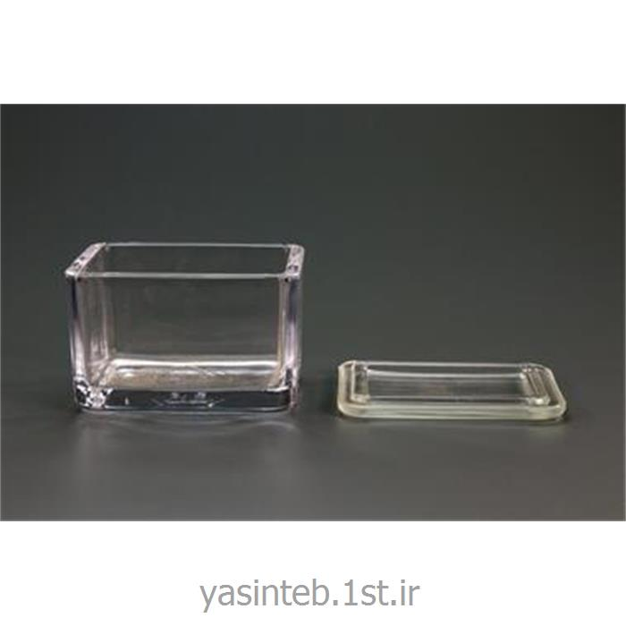 جار شیشه ای استوانه ای300*150 میلی متری لبه سمباده ای