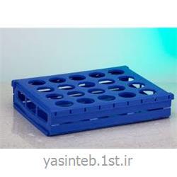 رک حمل نمونه 20 خانه برای ظروف نمونه تا قطر  48 mm