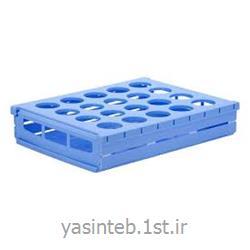 رک حمل نمونه 20 خانه برای ظروف نمونه تا قطر PIP 42 mm
