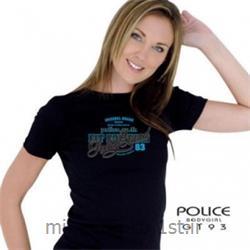 تی شرت کتان آستین کوتاه یقه گرد مدل G193 پلیس POLICE BODY SIZE