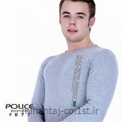 عکس ارائه دهنده اصلی برند تی شرت کتان آستین بلند یقه گرد مدل F277 پلیس POLICE BODY SIZE