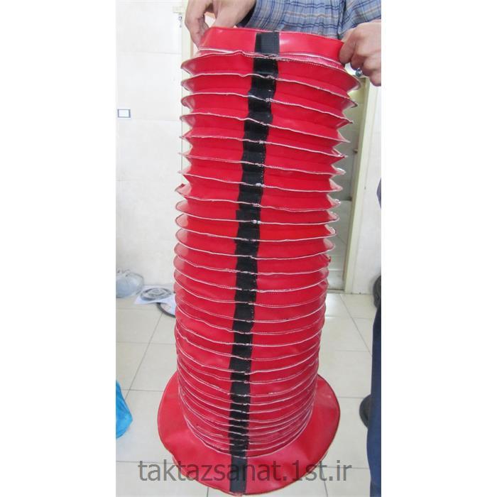 عکس سایر محصولات لاستیکیگردگیر آکاردئونی برزنتی چسبدار قطر 270 میل