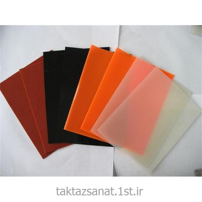 ورق های لاستیکی سیلیکونی ( silicon ) عرض 120 سانتیمتر ضخامت 2 میل
