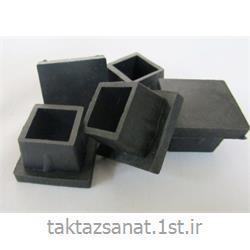 عکس سایر محصولات لاستیکیپایه صندلی پلاستیکی چهار گوش سایز 15*15 میل