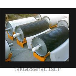 شیارزنی روکش لاستیکی غلطک های صنایع ذوب آهن
