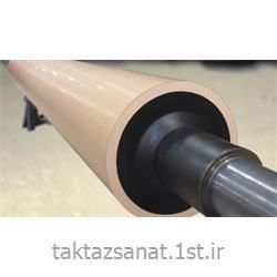 روکش لاستیکی ضد حرارت غلطک های صنعتی