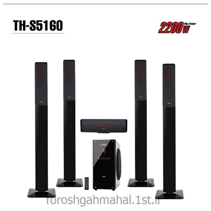 عکس سینمای خانگیسینمای خانگی 5.1 کانال مدل TH-S5160