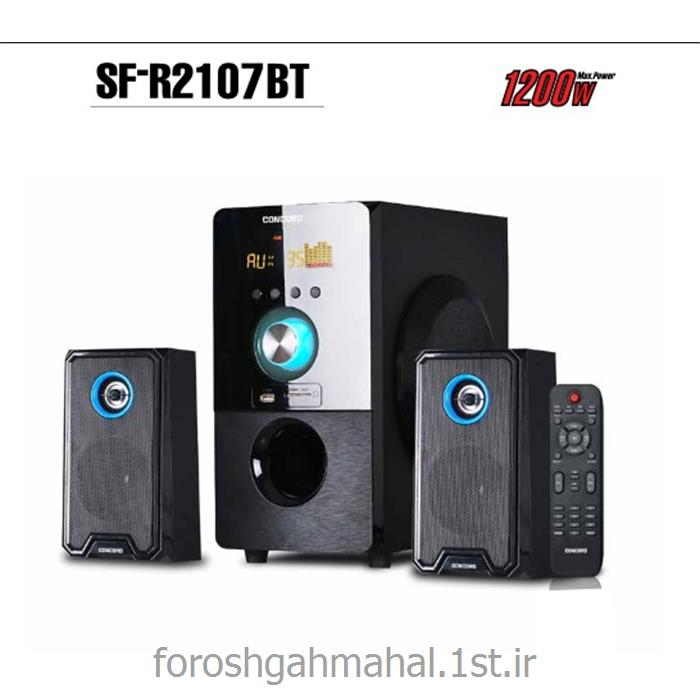 عکس سایر تجهیزات صوتی و تصویریسیستم صوتی 2،1 کانال مدلSF-R2107 BT