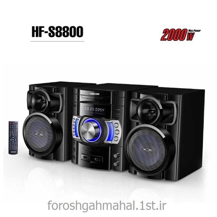 عکس سایر تجهیزات صوتی و تصویریسیستم صوتی DVD میکرو مدل HF-S8800