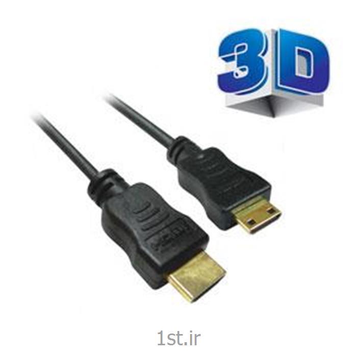 عکس کابل و کانکتور کامپیوترکابل اچ دی ام آی mini HDMI فرانت 1.5 متری - Faranet mini HDMI Cable 1.5m