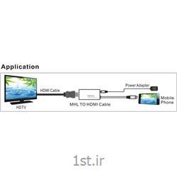 مبدل ام اچ ال به اچ دی ام آی/ MHL to HDMI w/RCP 0.2m