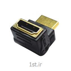 عکس کابل و کانکتور کامپیوتربرل اچ دی ام آی با زاویه 90 درجه فرانت / Faranet HDMI Barrel Adapter angel 90 Degree