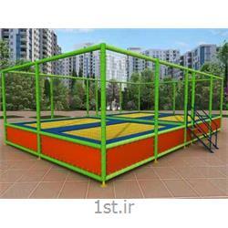 عکس سایر محصولات ورزشی و سرگرمیترامپولین 8 نفره فنری شهر آذین