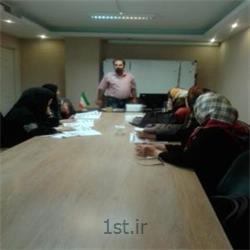 عکس آموزش زبانبرگزاری کلاس آموزش زبان گروهی در سرای محله