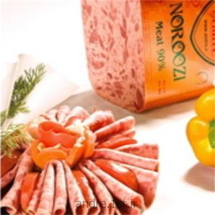 عکس کالباسژامبون گوشت نوروزی 90% آندره