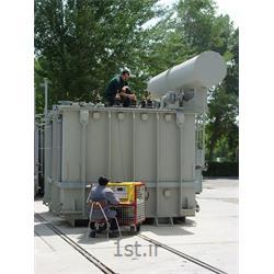 عکس مشاوره تکنولوژیانجام تست های الکتریکی ترانسفورماتور در سایت مشتریان