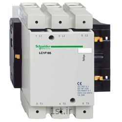 عکس کنتاکتور برق ( کلید خودکار قطع و وصل )کنتاکتور اشنایدر تله مکانیک LC1F185M7