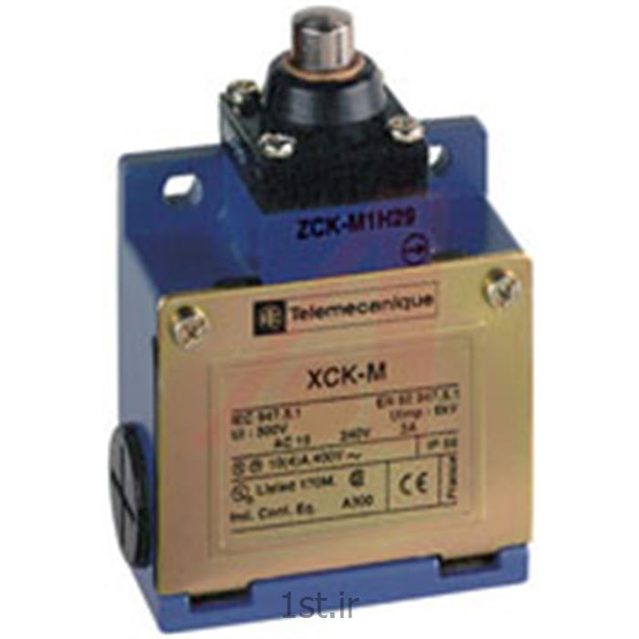 عکس لیمیت سوئیچ ( سوئیچ محدود کننده )لیمیت سوئیچ  اشنایدر تله مکانیک XCKM110   فشاری ساده