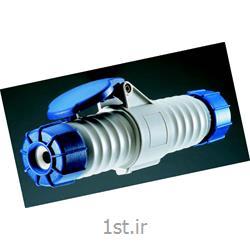 عکس کلید و پریز برقسه شاخه ارت دار 16 آمپر صنعتی ip67