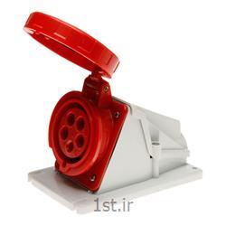 سوکت پلاگ صنعتی 63 آمپر 5 شاخ  GEWISS ایتالیا IP67