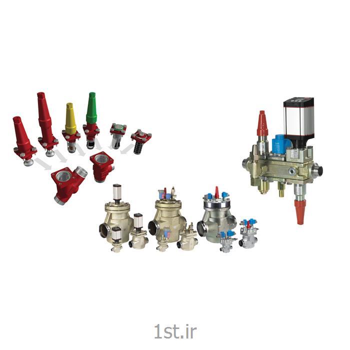 عکس سایر تجهیزات سرمایشی و گرمایشیشیرآلات و کنترل آلات آمونیاکی دانفوس