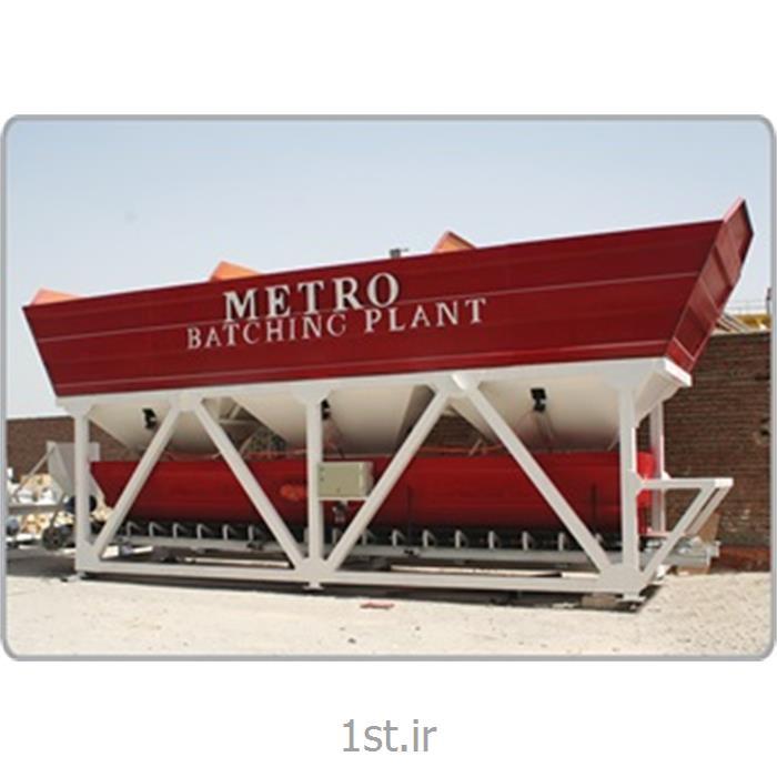 بچینگ پلانت ثابت با ظرفیت60 متر مکعب بتن تر و 80 متر مکعب بتن خشک