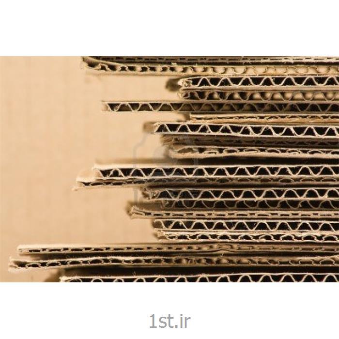 عکس انبار محصولات بسته بندیجعبه های مقوایی به همراه سلفون ورنی آج زده و یو وی