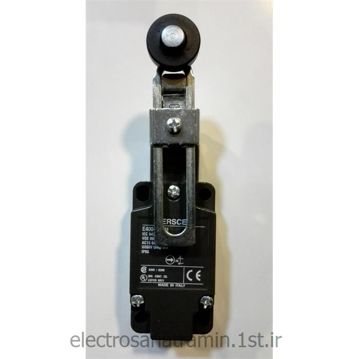 عکس لیمیت سوئیچ ( سوئیچ محدود کننده )لیمیت سوییچ بدنه فلزی رگلاژ Ersce E400-00-FM