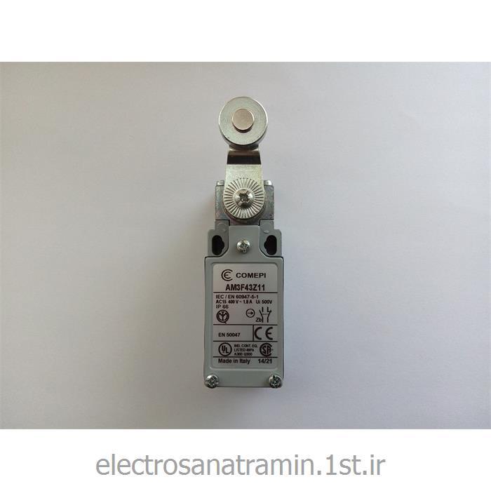 لیمیت سوئیچ بدنه فلزی کامپی دو طرف قرقره (Limit Switch AM3F43Z11)