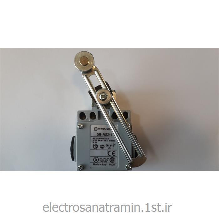 لیمیت سوئیچ بدنه فلزی کامپی رگلاژی قرقره فلزی ایتالیا(Limit Switch DM1F53Z11)