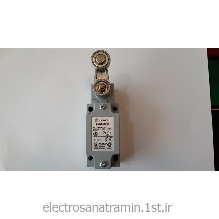 عکس تایم سوئیچ ( کلید زماندار )لیمیت سوئیچ بدنه فلزی دوطرفه قرقره بلبرینگی کامپی ایتالیا (Limit Switch COMPI BM1E43Z11)