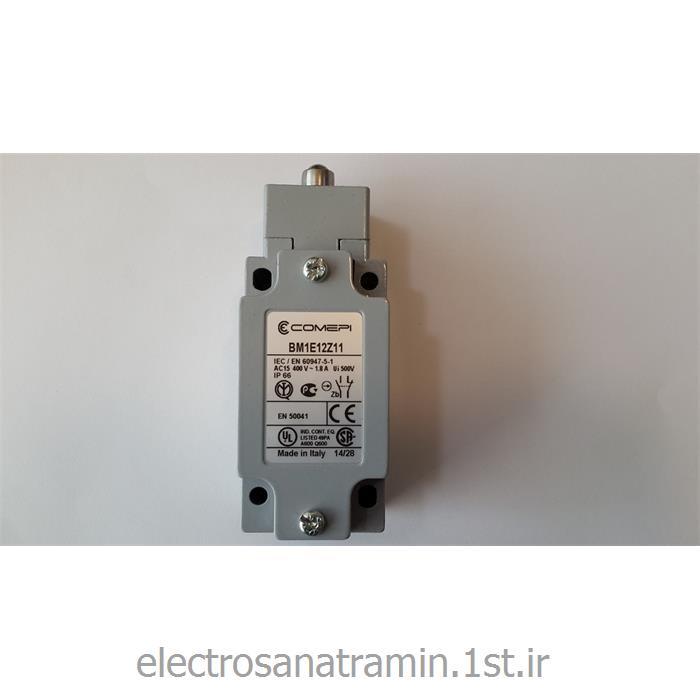 لیمیت سوئیچ بدنه فلزی فشاری ساده کامپی ایتالیا (Limit Switch COMPI BM1E12Z11)