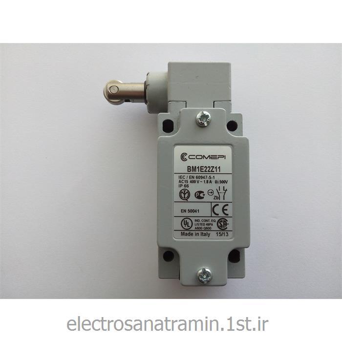 لیمیت سوئیچ بدنه فلزی فشاری قرقره از بغل COMEPI مدل BM1E22Z11