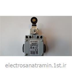 لیمیت سوئیچ بدنه فلزی کامپی دوطرف قرقره پلاستیکی ایتالیا(Limit Switch DM1F41Z11)