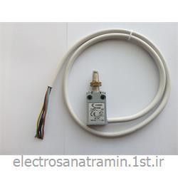 لیمیت سوئیچ فلزی باریک کابل دار فشاری قرقره COMEPI مدل EM1G22Z