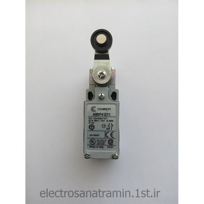 لیمیت سوئیچ بدنه فلزی کامپی دو طرف (Limit Switch AM3F41Z11)