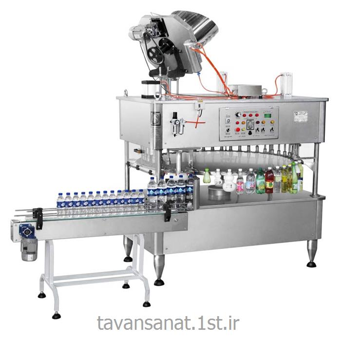 عکس ماشین آلات تولید آشامیدنی هادستگاه پرکن 16 نازله مایعات منو بلوک