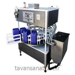 دستگاه پرکن گالن 20 لیتری روغن صنعتی
