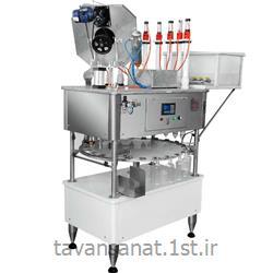 عکس سایر ماشین آلاتدستگاه پرکن و دربند مواد اسیدی بطری PET ظروف اسیدی و پلی اتیلن