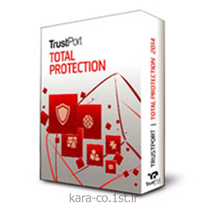 عکس نرم افزار کامپیوترتراست پورت آنتی ویروس TrustPort Total protection 2014