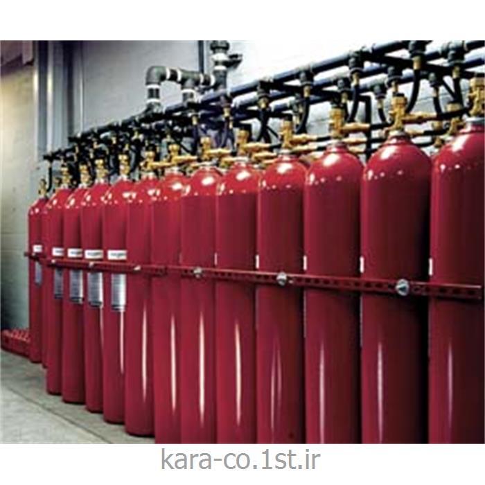 عکس وسایل اطفاء حریقسیستم اطفاء حریق با Inergen محصول امریکا ، برند تایکو
