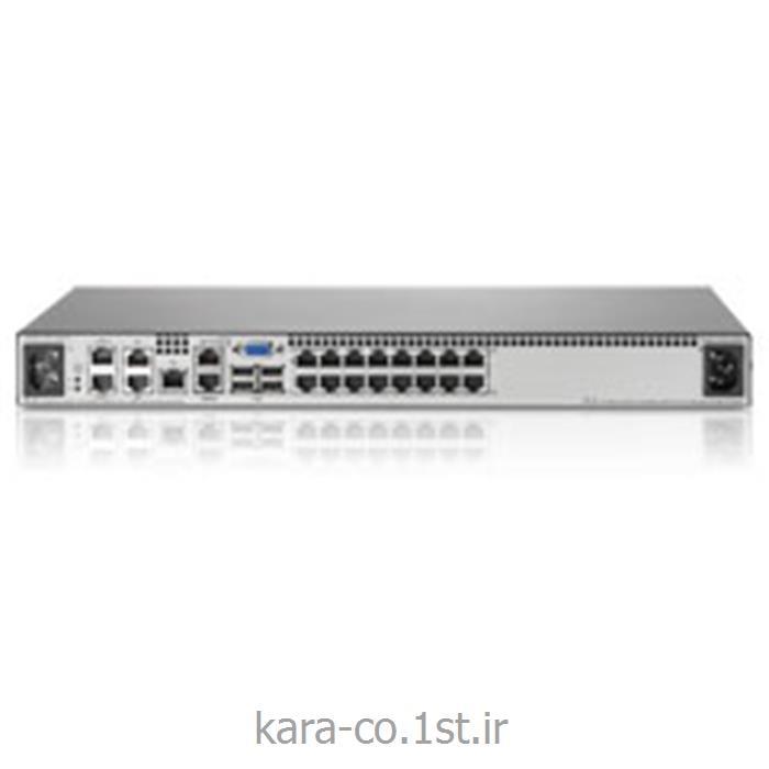 عکس رک شبکهاچ پی کی وی ام HP 2*1E*16 KVM Console Switch G2 AF621A