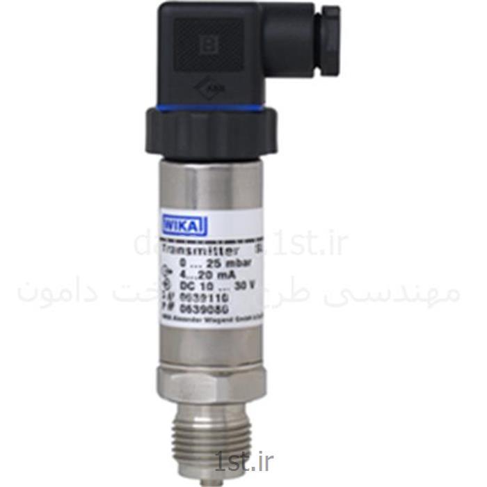 عکس نمایشگر فشار (مانیتور فشار)پرشر ترانسمیتر ویکا مدل S-11 فشار 0 تا 100 بار  G 1/2 B
