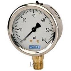 عکس نمایشگر فشار (مانیتور فشار)پرشر  گیج ویکا مدل 232.50 فشار0 تا 2.5بار اتصال از زیر NPT1/2