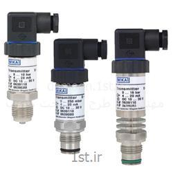 عکس نمایشگر فشار (مانیتور فشار)پرشر ترانسمیتر ویکا مدل S-11 فشار 0 تا 1 بار  G 1 B